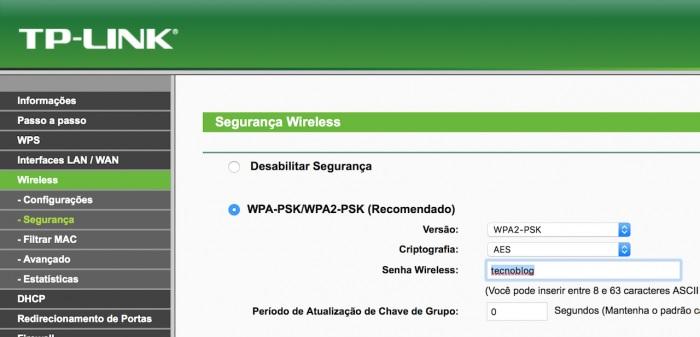 Como mudar a senha do Wi-Fi pelo celular