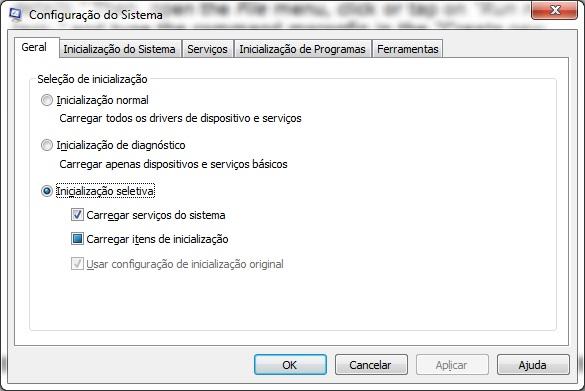 msconfig - 8 maneiras de iniciar a configuração do sistema no Windows (todas as versões)